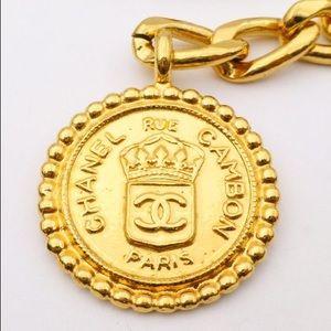 24k Gold Vintage CHANEL rare collectors piece